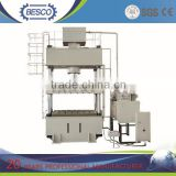 europe standard 4-post 500 ton capacity press,hydraulic press machine