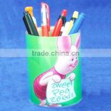 Customize pen holder fridge magnet note pad with pen holder Shenzhen acrylic products factory