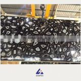 Black onyx marble slab stone with low price