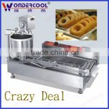 Stainless steel automatic industrial mini gas baked donut machine