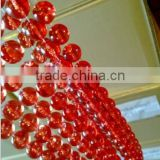 CB18 Wholesale Luxurious Red Pendant Beaded Curtains - Hanging Door-living room Curtains