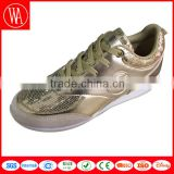 Ladies beautiful flat sequin casual shoes