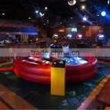 Remote control Adults mechanical bull rodeo,Inflatable bull ride crazy games