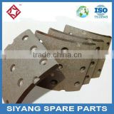 Wholesale auto spare parts brake shoes lining for turcks