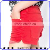 Women Fashion Design Casual Shorts Hotselling Fashion Shorts Casual Outing Tight Jeans Fresh Simple Passionate Jeans