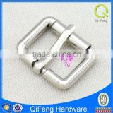 F-190 belt pin buckle for sale bag parts silver square metal accessory