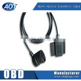 J1939 9PIN Male to OBD2 Male/Female Adapter Heavy Truck Cable