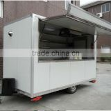 Factory Supply YS-FV350 Mobile Ice Cream Cart, Customized Logo Street Fast Food Cart/ Fast Food Trailer/ Fast Food Truck