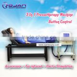 Cellulite reduction professional lymphatic drainage device/pressotherapy machine/pressotherapy