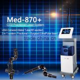 2015 Beauty Salon Instruments Co2 Fractional Laser Equipment Vagina Face Lifting Cleaning Air Cooled Re Exited Co2 Laser Wart Removal Salon