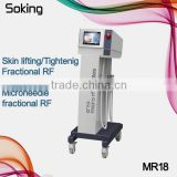 rf machine rf fractional micro needle rf facial exercise machines