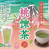 Japanese High Quality Peach Matcha Green Tea Extract Powder