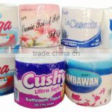 OEM white color toilet tissue paper