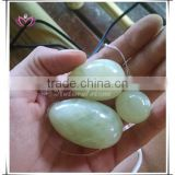 wholesale various top quality jade eggs for women vaginal kegel exercise drilled jade yoni eggs