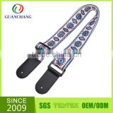 high quality heat transfer sublimation guitar straps guitar belts