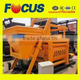 Top Quality 1000L Concrete Mixer, Js1000 Twin Shaft Concrete Mixer Pneumatic Discharging