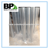 galvanized and powder coated in ground steel bollard