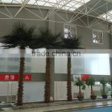 2015 hot sale high simulation artificial fiberglass palm tree for decoration