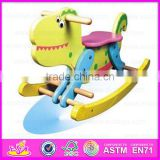 2015 Excellent wooden toy kids rocking horse,Lowest Price wooden rocking horse,intelligence spring rocking horse toy WJY-8106