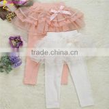 Autumn Regular Children Girl Active Lace Bow Skirt Pants Of Cheap Price