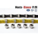 Monte-bianco Diamond Wire Saw For Block Dressing cutting wire saw
