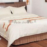 King size bed spread&dust ruffle