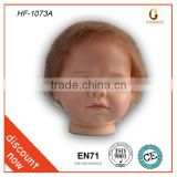 eco-friendly vinyl silicone dolls kit/vinyl baby doll heads/cheap baby dolls that look real