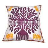 Indian Cut Work Printed Cushion Covers For USA Market