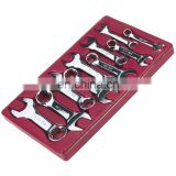 S.A.R 10 Pc. 12 Point Metric Full Polish Stubby Combination Wrench Set