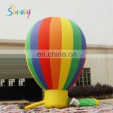 giant stitched inflatable balloon models, rainbow color inflatable balloon models for advertising