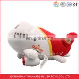 Airline plush airplane stuffed toy