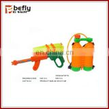 Cool orange water gun bottle with EN71