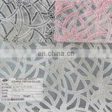 2014 CC-L7013 new fashional burnt-out polyester/cotton solid lace for all ladies' garment accessories