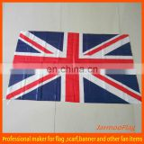 UK flag and banner