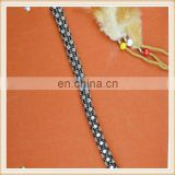 on sale beaded rope for garments/bags/hat, many colors, made in China