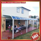 pc polycarbonate aluminum aluminium metal pc outdoor porch gazebo patio canopy canopies cover awning shelter for sale