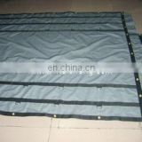 made pvc canvas tarp with rings for wagon cover and truck cover and lorry cover