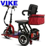 Double Elderly Leisure Electric Tricycle Folding Electric Adult Disabled  Double