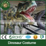 JLDC-C-lifelike artificial style company events walking dinosaur suits for performance