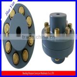High transmission efficiency gear coupling/shaft coupling