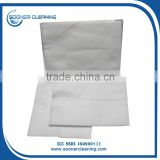 [soonerclean] China Supplier 100% Polyester White Embossed Disposable Dry Wipes Floor Wipes