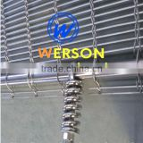 stainless steel Decorative wire mesh for Ceiling Cladding, Facades,wall, cable mesh Patterns | generalmesh