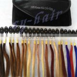 Fast Selling Alibaba China Cheap Virgin Wholesale Remy Double Drawn human hair color ring