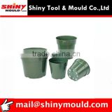 Plastic injection garden use plant pots mold/tooling