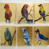 Dafen Oil Painting Village Big Wholesale Handmade Oil Painting on Canvas Birds for Home Decoration