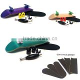 Supply cheap complete set multi color canada maple wood fingerboard wholesale fingerboard wheels