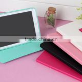 Cute Color Bow Knot Stand PU Leather Credit Card Slots Smart Case Cover For iPad Mini 2 3 4