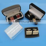 different types wholesale cufflink with boxes for men's business shirts