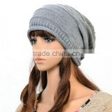 Charming lovely boys girls all like head protect colours knitting beanie warm hats Image