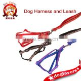 Large and small dog pet supplies wholesale, beautiful and comfortable harness with a dog leash dog chain supplies